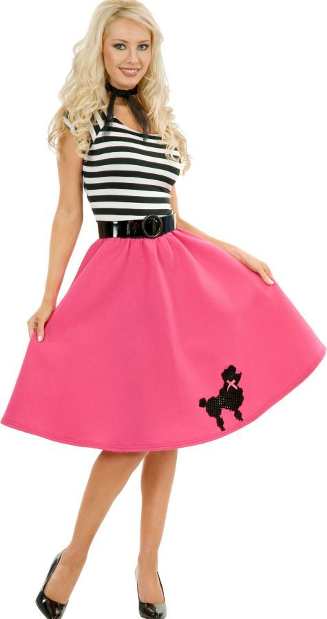 fe0ac8ccec54 Pink Poodle Dress Costume Adult - Party City fun and cute ...