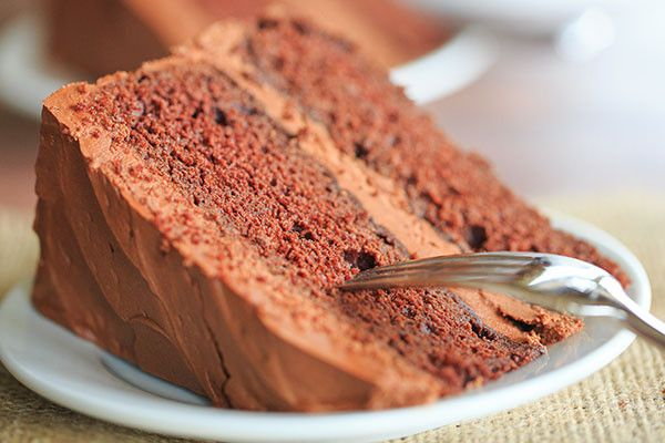 OldFashioned Chocolate Layer Cake with Chocolate Frosting Recipe