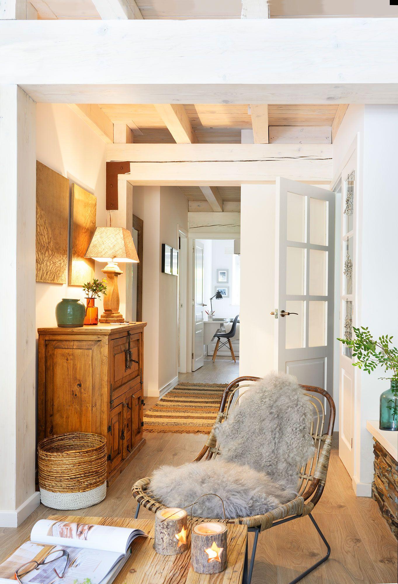 Recibidores y pasillos buenas ideas para decorarlos y - Como decorar la entrada de mi casa ...