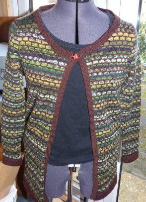 Machine Knitting Garments | Knitting machine patterns ...