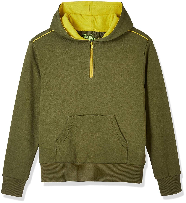 Youth Boys Or Girls Long Sleeve Hoodie Sweater Khaki C118ih40tm8 Sweater Hoodie Long Sleeve Hoodie Boys Long Sleeve [ 1500 x 1373 Pixel ]