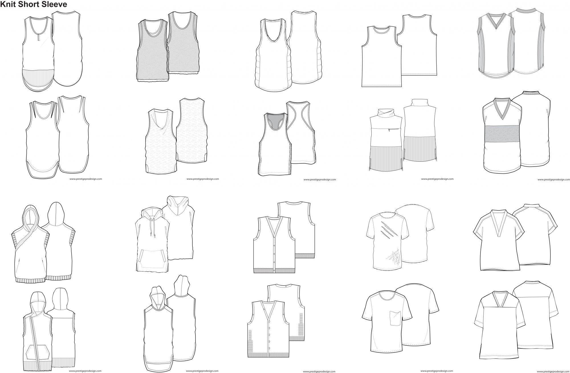 Illustrator Fashion Design Template   Fashiondesign   Pinterest ...