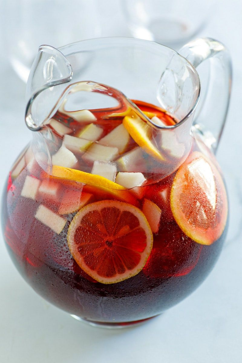 Winter Spiced Red Wine Sangria In 2020 Red Wine Sangria Sangria Wine And Cheese Party