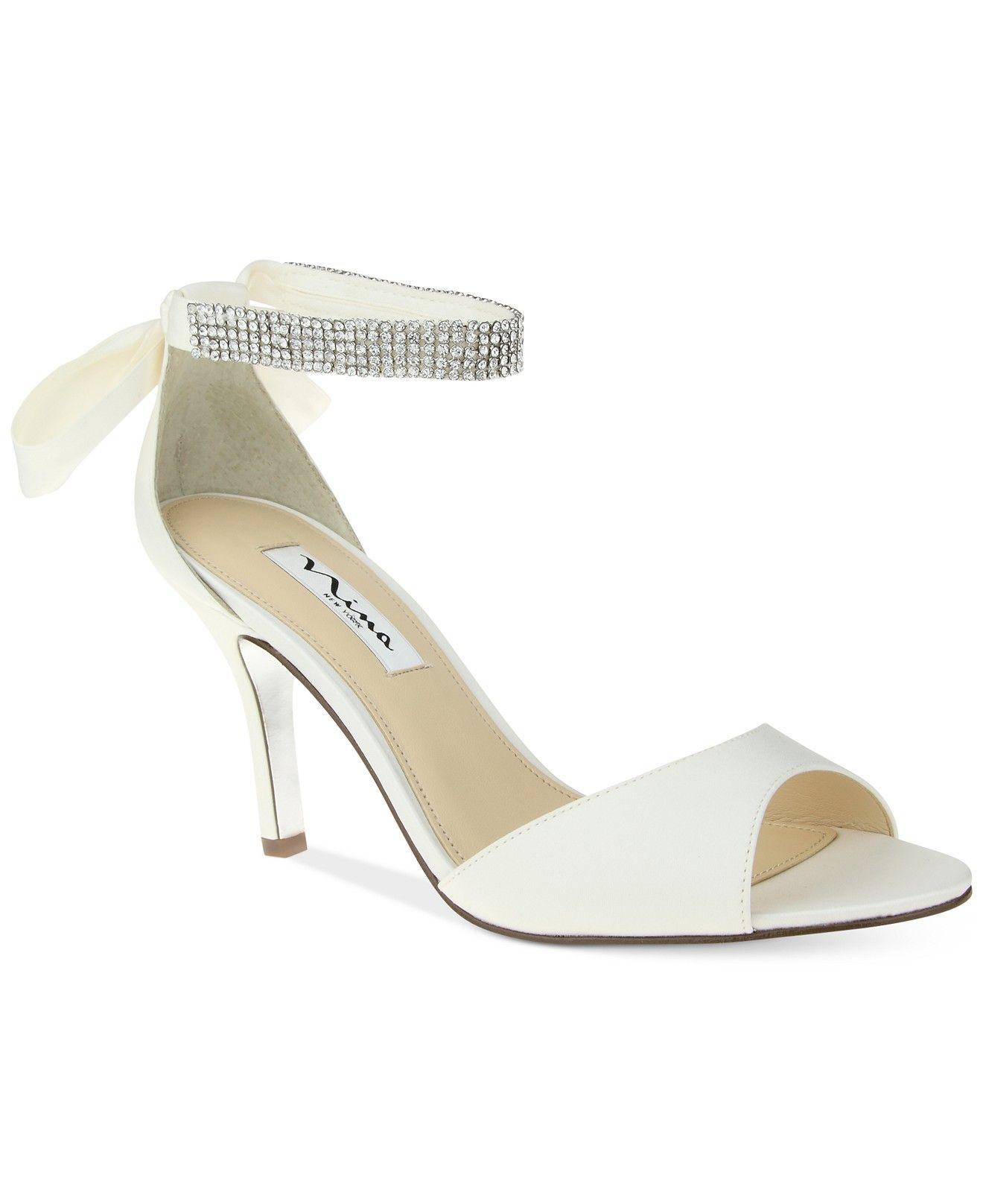 2b3272f60c7 Nina vinnie two piece evening sandals evening bridal shoes macys jpg  1320x1616 Macys wedding shoes