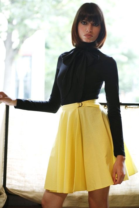 Leslie circle skirt pattern/instructions