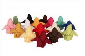 18 Color Polyester Napkin Sample Pack Table Linens Free For Ers Bravobride