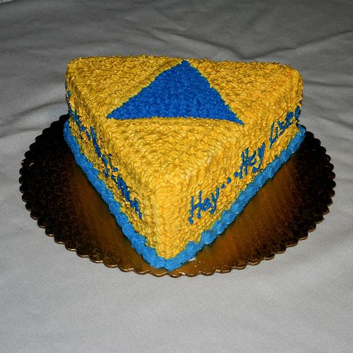 Yellow Triforce Cake Google Search