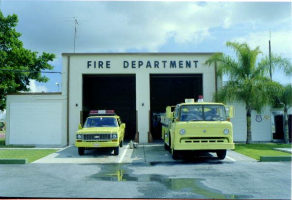 Afb Fire Homestead Air Force Base Main Fire Station Fire