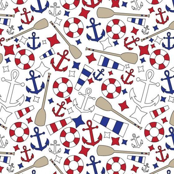 Love this nautical pattern | Nautical Inspired | Pinterest ...