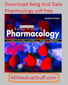 Rang dale pharmacology 7th edition pdf