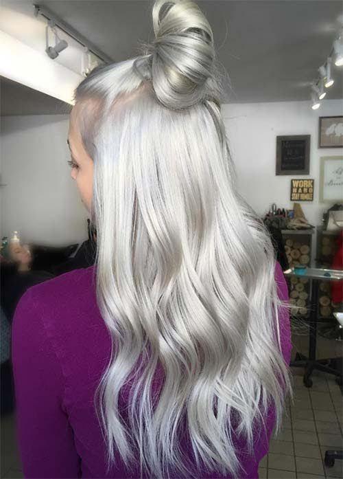 silver hair color ideas