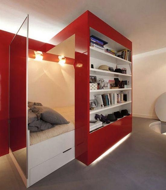 Cool Studio Apartment Ideas: 15 Unique Tiny Studio Apartment Design Ideas