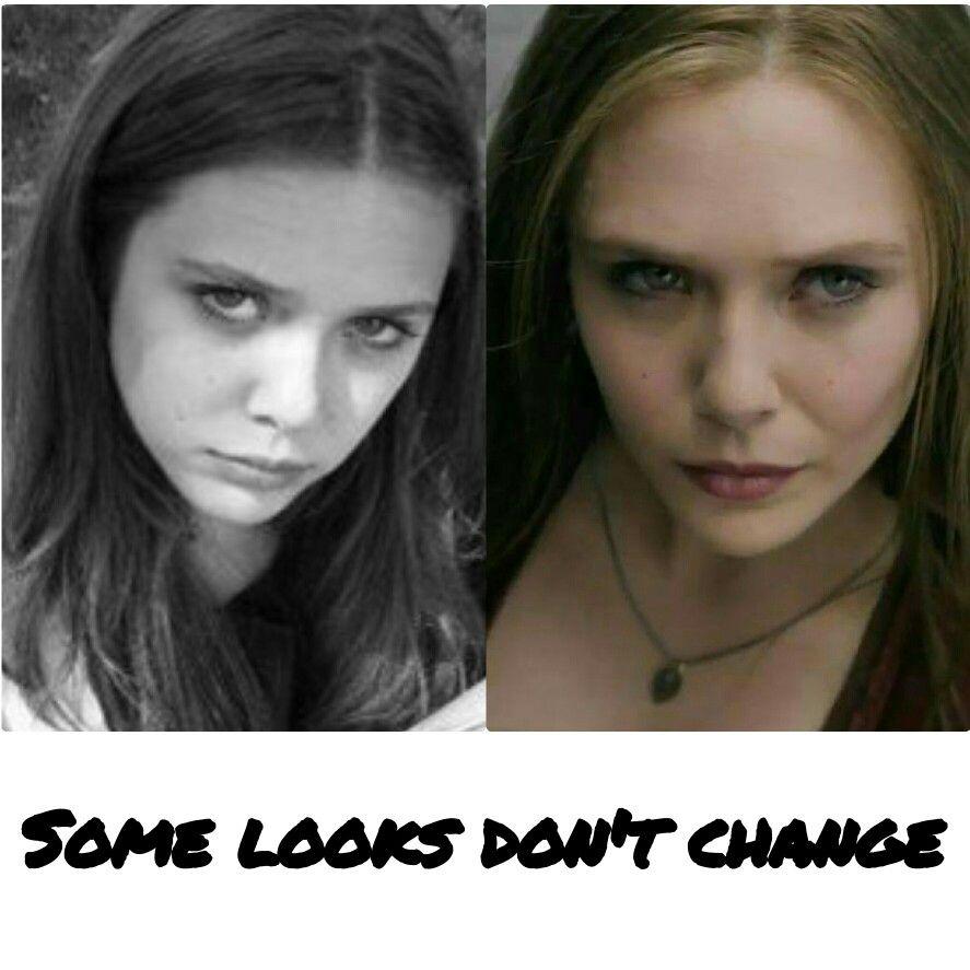 Elizabeth Olsen, over the years...
