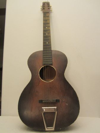 Craigslist Vintage Guitar Hunt 1930 S V Neck Birch Bodied Parlor