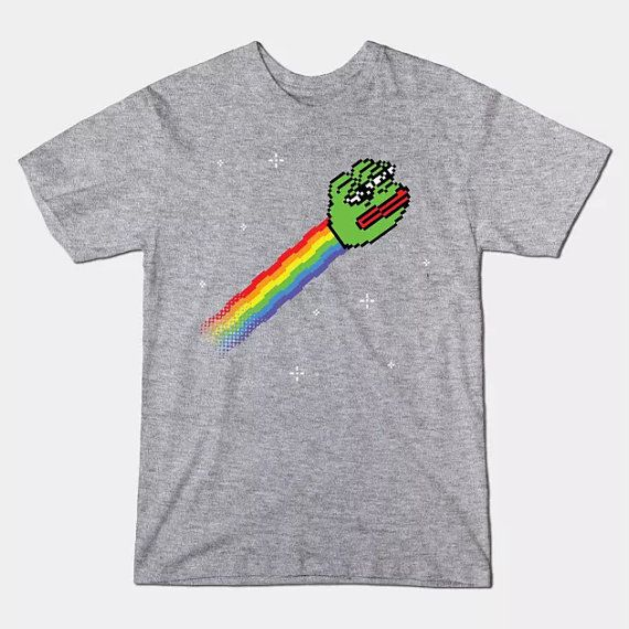 7f9005f4af394a7fde7d96d72ac898d7 nyan pepe t shirt pepe sad frog dank memes nyan cat shirt