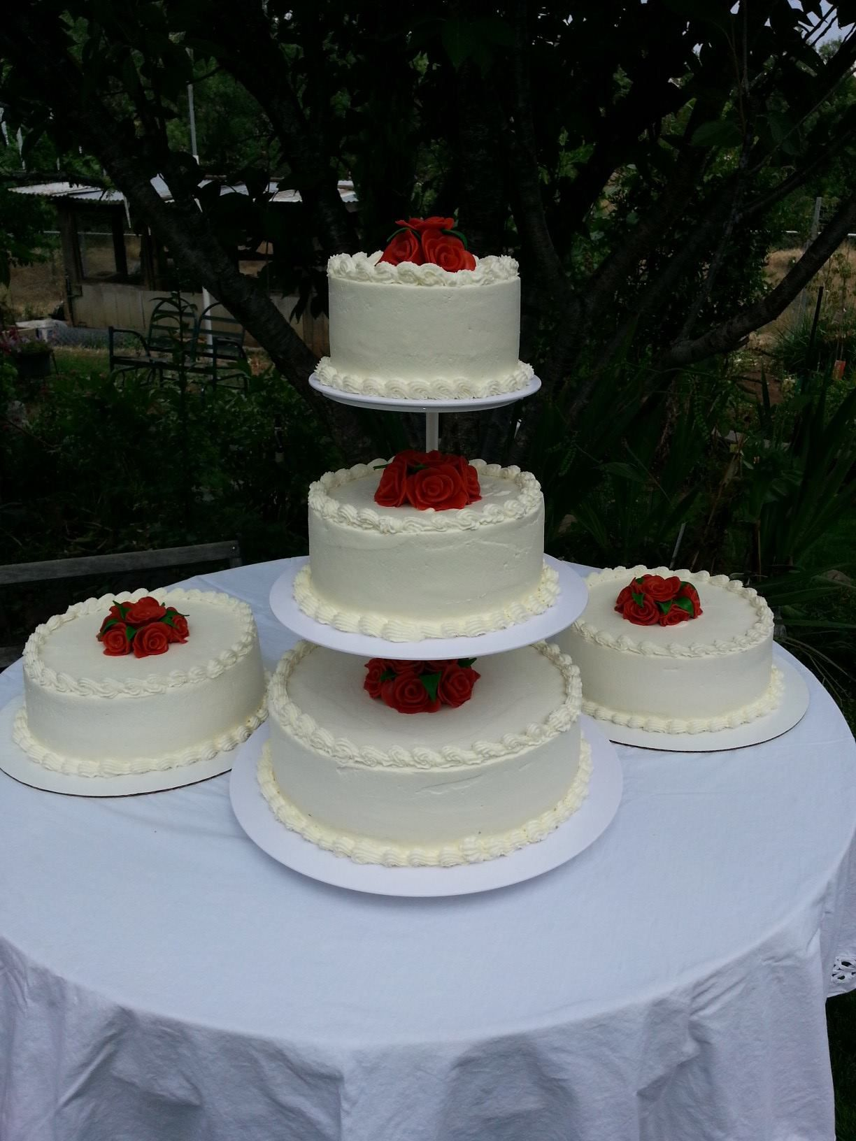 Tres Leches Wedding Cake