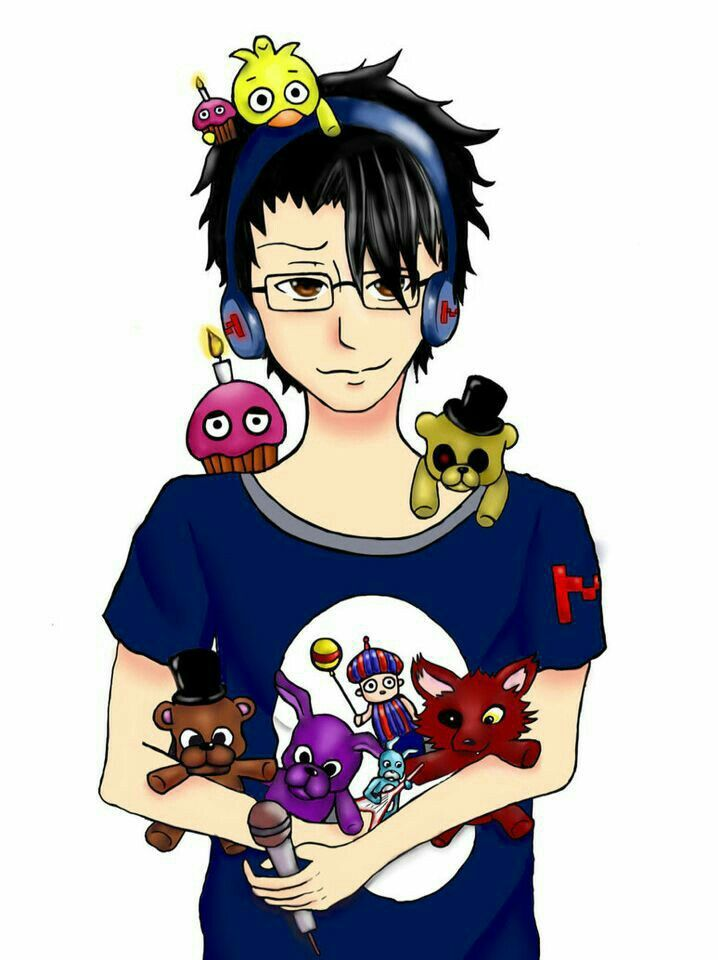 Markiplier, headphones, FNAF, Five Nights at Freddy's ... Markiplier Fnaf