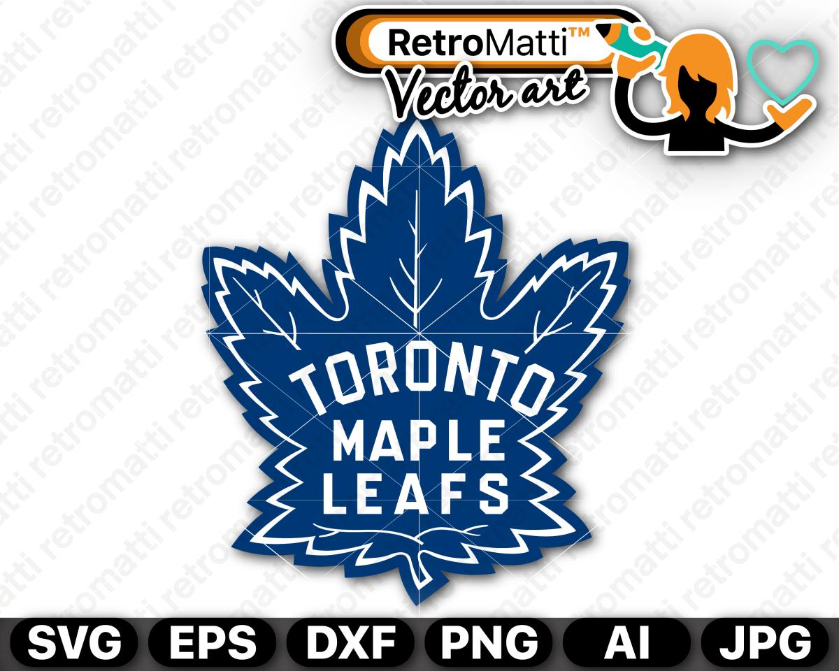 Vintage Toronto Maple Leafs Svg Logo Maple Leafs Retro Logos Toronto Maple Leafs