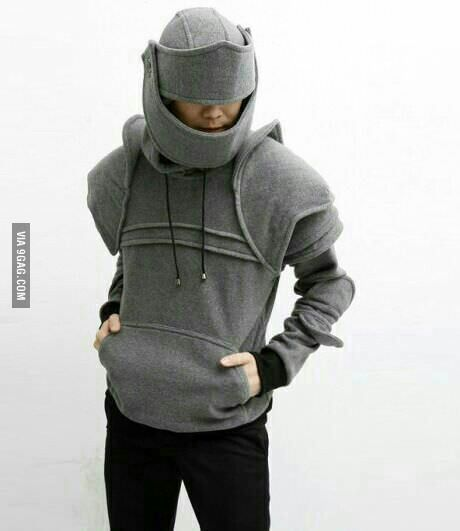 Awesome idea for upcycled sweatshirt!