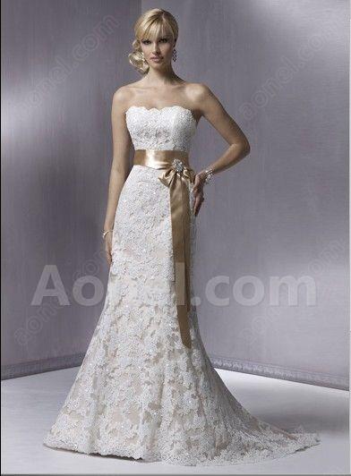 lace mermaid trumpet wedding dress