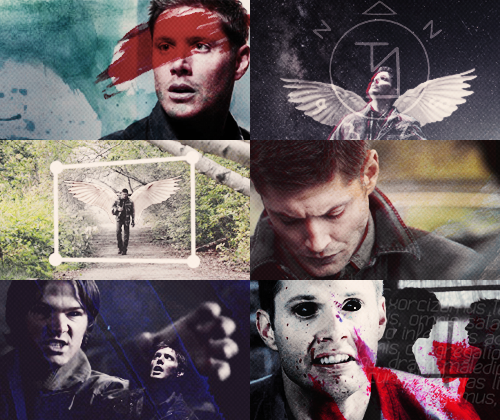 Supernatural AU → an angel become the devil  Dean's an angel.. An angel trapped in the world..His confused  and he doesn't know what to do..He doesn't remember who he is..Then he sees Sam..But Sam is a devil now.. And two brothers began to fight..Dean loses, Sam wins..