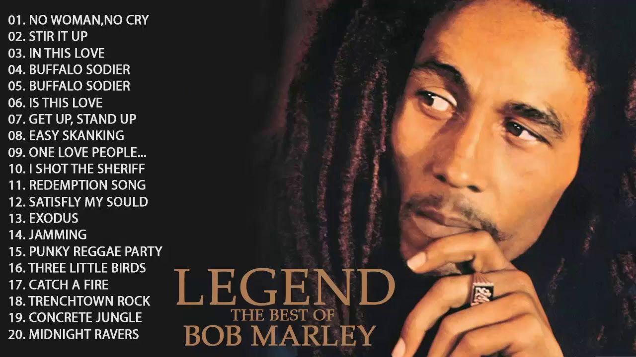 Bob Marley Greatest Hits Full Album Bob Marley Legend Songs | Bob marley  greatest hits, Bob marley legend, Bob marley