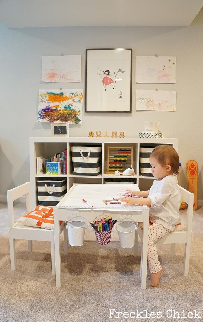 Basement Reno Quinn S Playroom Toddler Playroom Playroom Table