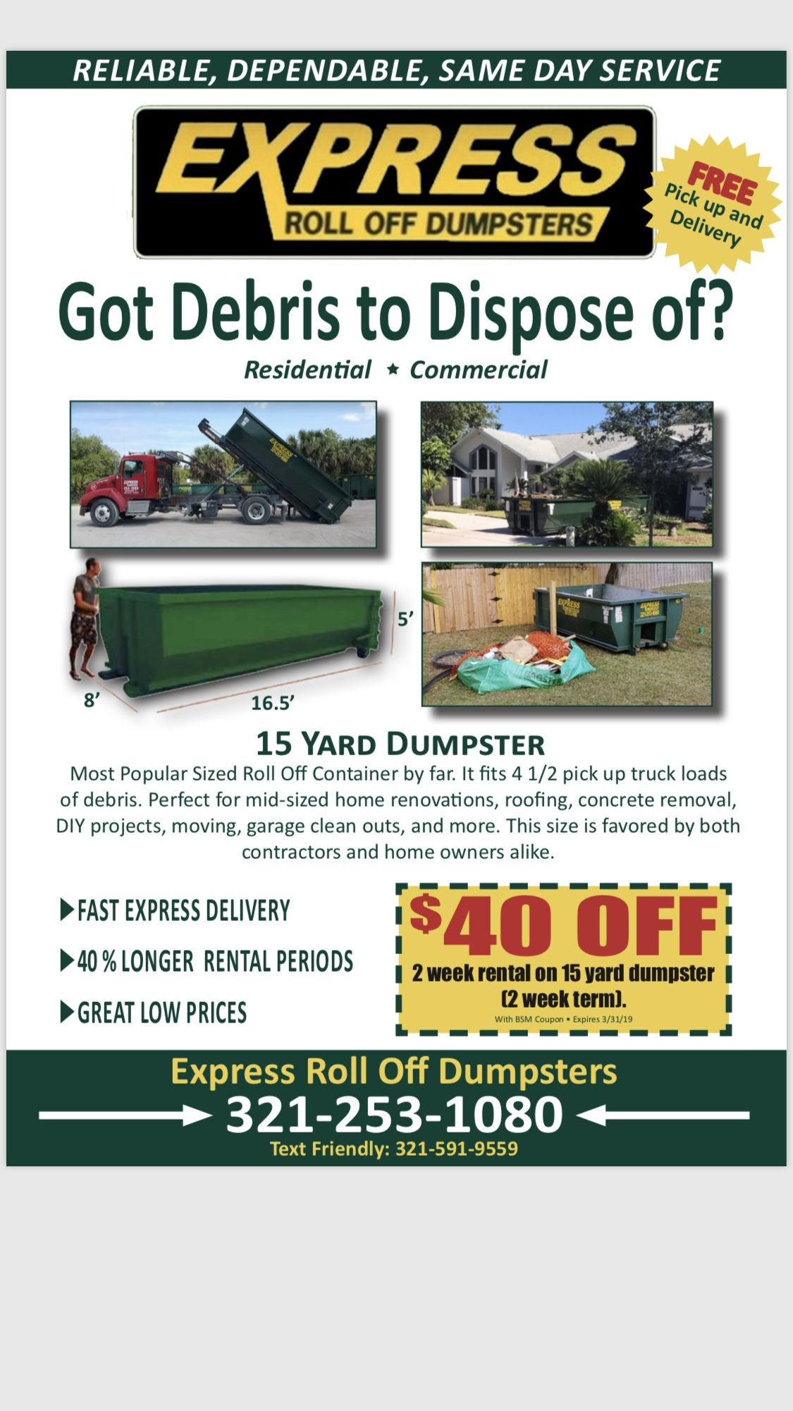 Cheap Dumpster Rental Roll Off Dumpster Prices Express Roll Off Roll Off Dumpster Dumpster Rental Dumpster