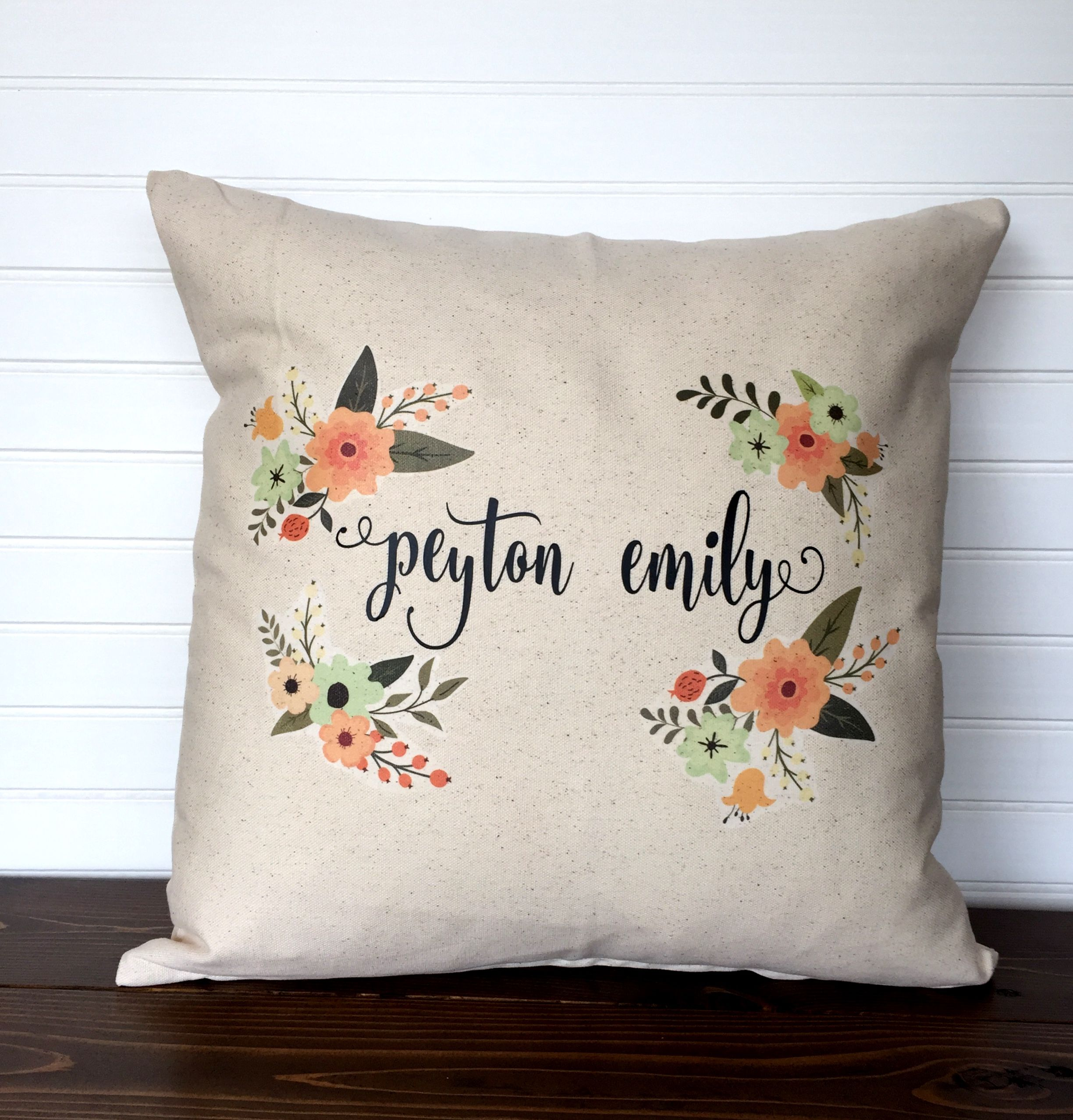 pillow personalized pillows items believe holiday elf seasonal in your case collections christmas