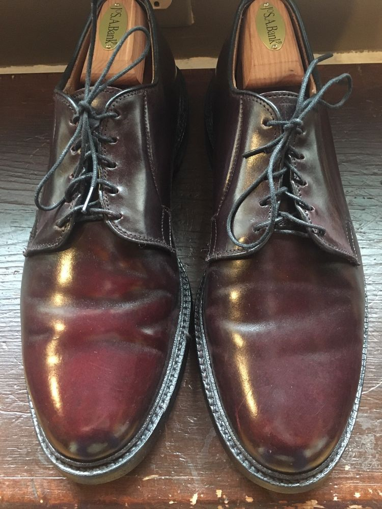 b6fd884daab Mens Allen Edmonds Leeds Shell Cordovan Derby Dress Shoe sz 10 D  fashion   clothing  shoes  accessories  mensshoes  dressshoes (ebay link)