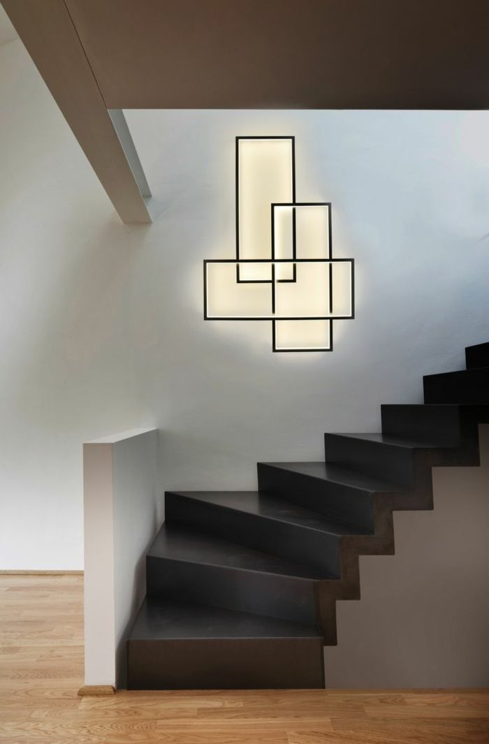 l clairage indirect 52 super id es en photos escalier pinterest stairway lighting. Black Bedroom Furniture Sets. Home Design Ideas