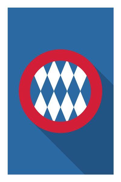 Bmfc Art Print Con Imagenes Bayern Munich Bayern Munich