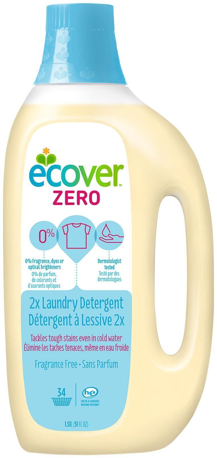 Ecover Laundry Detergent Zero Free Shipping Laundry Liquid