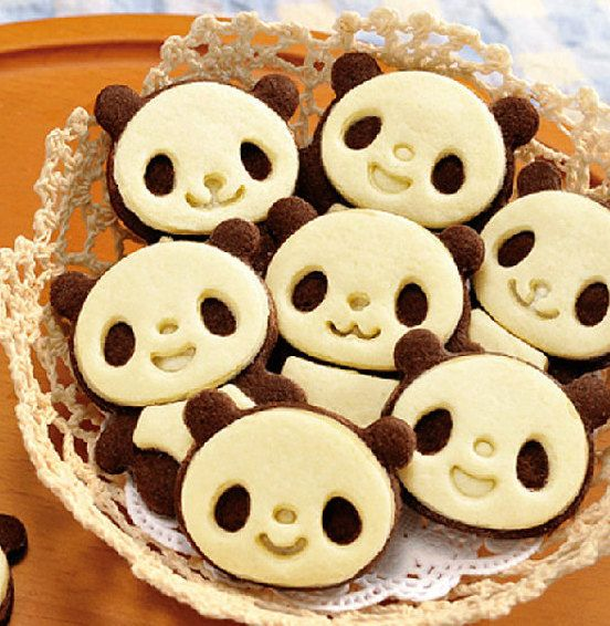 diy panda cookie cutter biscuit cookies de moules moule g teau moule 4p panda party. Black Bedroom Furniture Sets. Home Design Ideas
