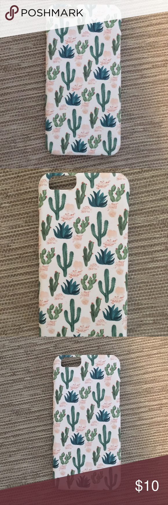 Cactus iPhone 6 6S Case Super cute iPhone 6 6s case Brand new and never used Cacti ferns and suc Cactus iPhone 6 6S Case Super cute iPhone 6 6s case Brand new and never u...