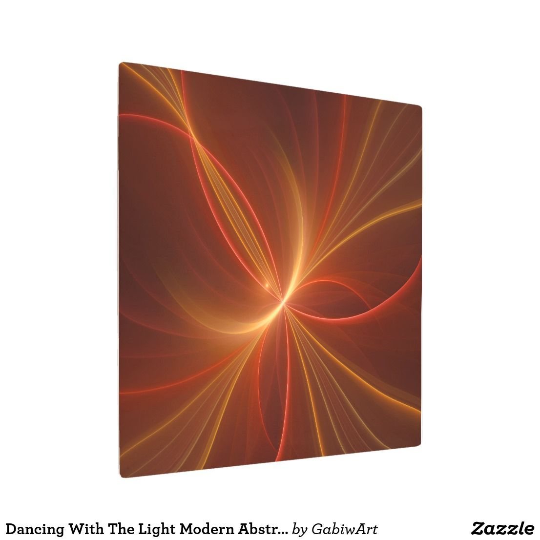 Kunstdrucke Tiermotive Dancing With The Light Modern Abstract Fractal Art Zazzle