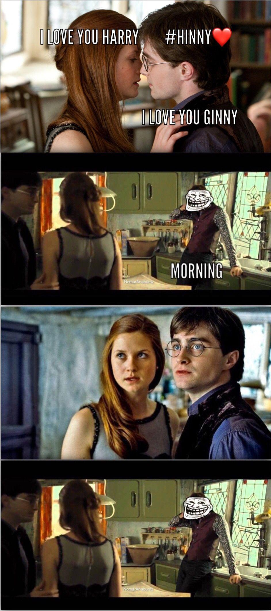 Harrypottermemes Harry Potter Kiss Harry Potter Memes Harry Potter Funny