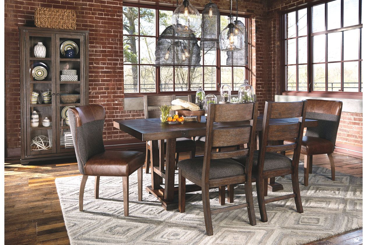 Zenfield Dining Room Table Ashley Furniture Homestore Modern Dining Furniture Dining Chairs Dining Furniture Makeover
