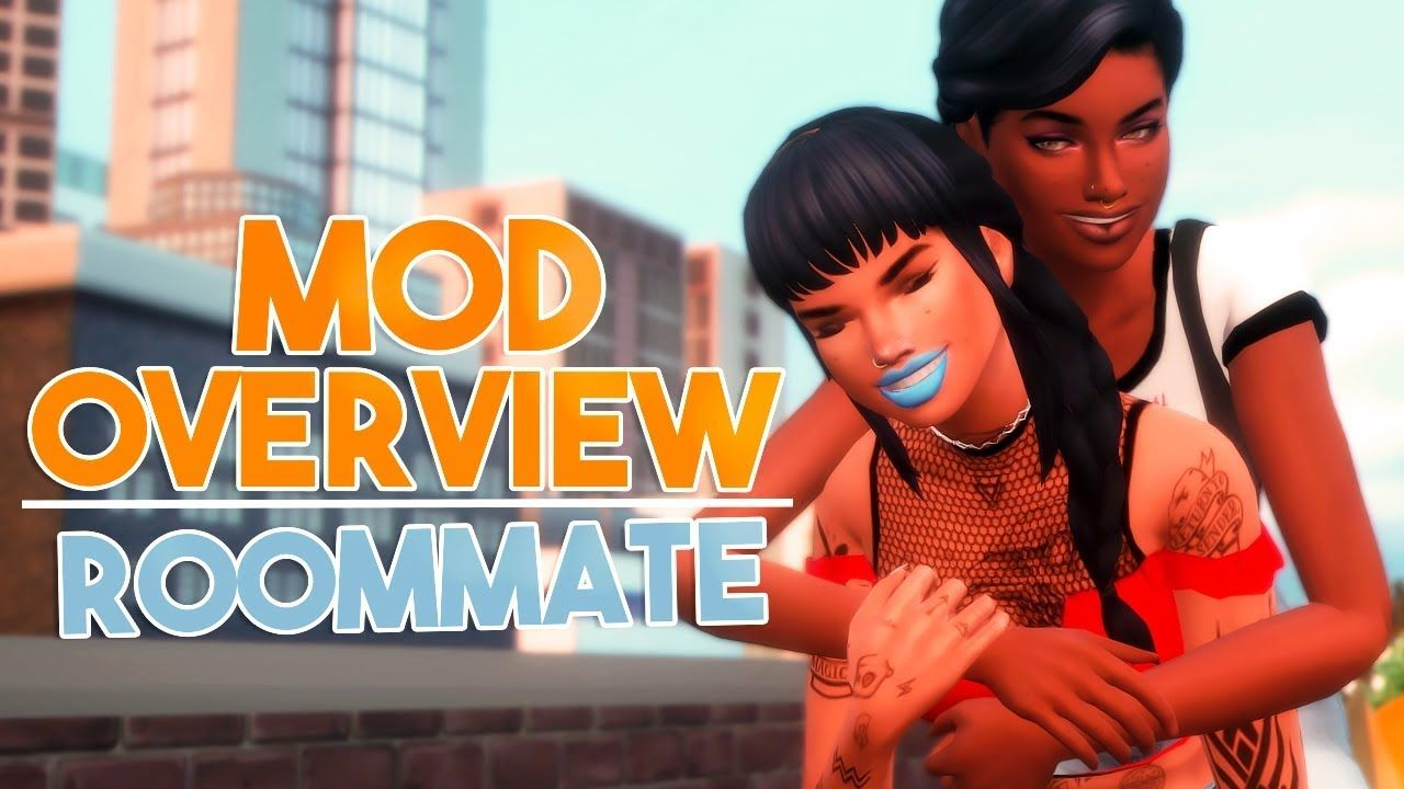 NPC ROOMMATE MOD // The Sims 4: Mod Overview | The Sims 4