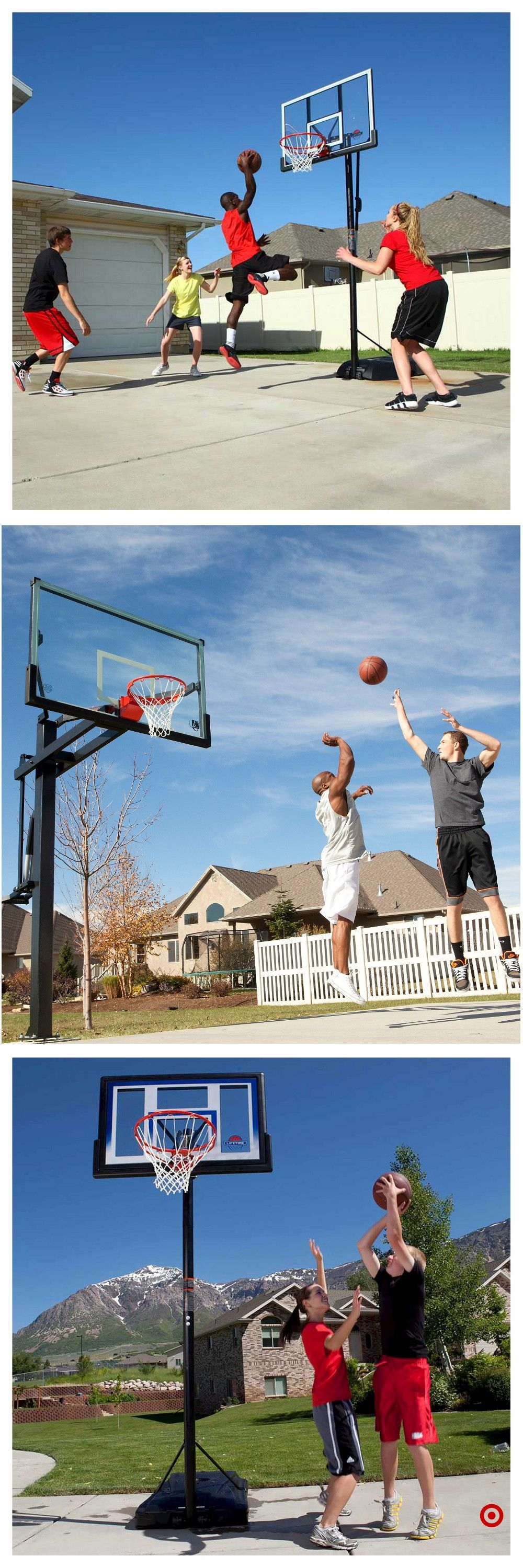 f13ffaaabf2 Shop Target for basketball hoops you will love at great low prices. Free  shipping on orders of  35+ or free same-day pick-up in store.