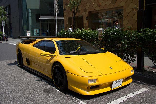 Lamborghini Diablo Lamborghini Diablo Car Tokyo Japan Cars