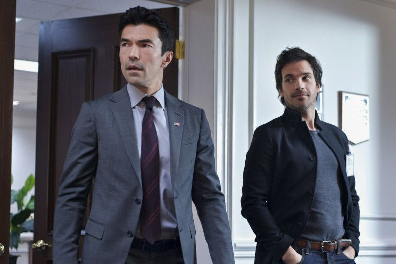 """Ian Anthony Dale Thriller USA TV Show 14/""""x20/"""" Poster 001 Salvation"""