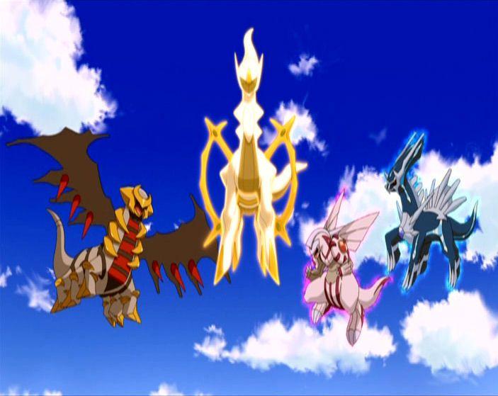 Giratina Arceus Palkia Dialga Pokemon Pictures Pokemon Pokemon Images