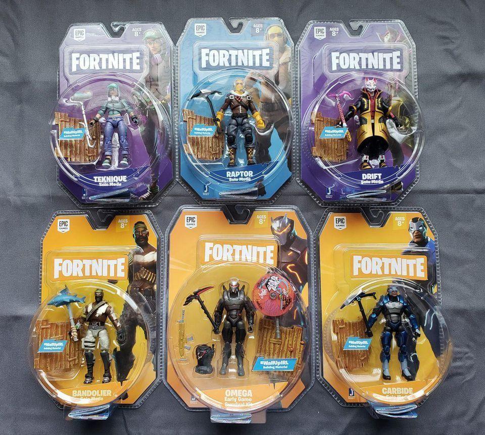 Brand New Sealed Jazwares Fortnite 4 4 Inch Action Figure Set Of