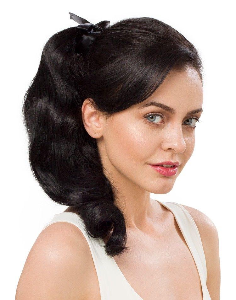 Ponytail Natural Black 1b Ponytail Hair Extensions Hair