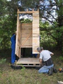 CONSTRUCTION DE TOILETTES SECHES POUR LES NULS | Bricolage ...