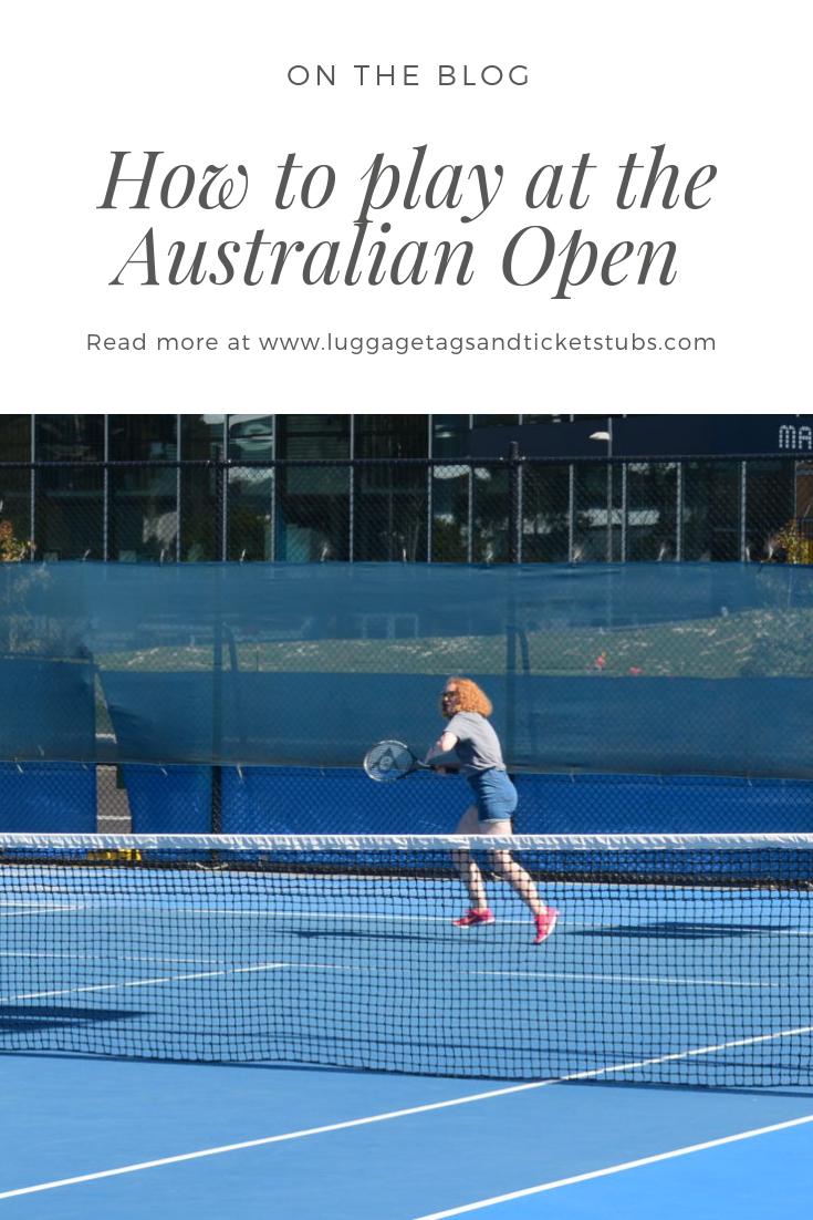 Australian Open Tour How To Play On The Courts At Melbourne Park Australian Open Australian Open Tennis Tennis Australia