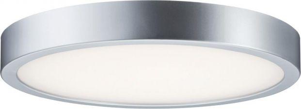 Paulmann LED Deckenleuchte Warm Weiß Orbit Chrom matt Weiß