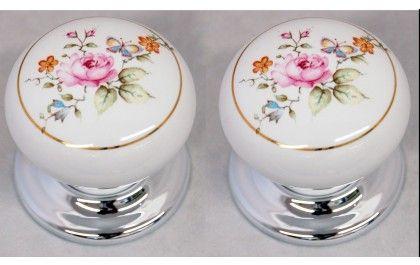 flower china door knob | Shabby Chic | Pinterest | Porcelain door ...