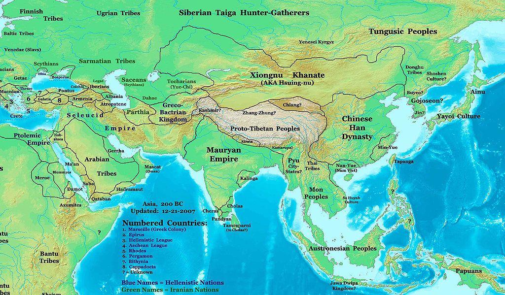 Xiongnu - Wikipedia, the free encyclopedia